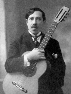 Agustín Barrios a/k/a Agustín Barrios Mangoré. Composer.