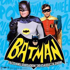 """Classic 1966 Batman - """"Facts and Stats from the Classic TV Show"""". New Bat Book ! Batman 1966, Batman Comics, Batman And Superman, Batman Robin, Batman Tv Show, Batman Tv Series, Batgirl, Catwoman, Batman Facts"""