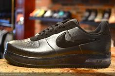 NIKE AIR FORCE 1 FOAMPOSITE PRO LOW ANTHRACITE/BLACK #sneaker