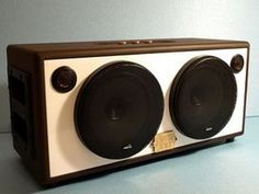 Picture of Final Thoughts Diy Bluetooth Speaker, Bluetooth Gadgets, Home Speakers, Bookshelf Speakers, Radios, Diy Boombox, Wooden Speakers, Speaker Box Design, Subwoofer Box