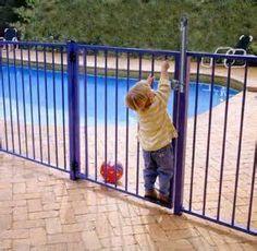 above ground pool gates - Bing Images