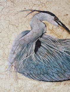Decorative Wall Art Using Chalk Paint® decorative paint by Annie Sloan & Annie Sloan's, 2 Step Craqueleur | By Lee Caroline - A World of Inspiration