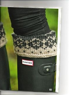 This would be so nice in my cold hunter boots
