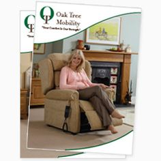 Call now for your Oak Tree Mobility brochure, for all the latest offers and prices! Recliner Chairs, Armchair, Oak Tree, Furniture, Collection, Home Decor, Power Recliner Chairs, Sofa Chair, Single Sofa