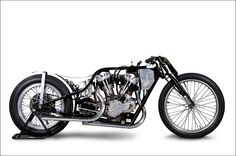 Harley Davidson 1947 FL  by NICE! MOTORCYCLE