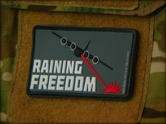 This 2x3 inch MoeGuns original PVC patch is perfect for anyload outor setup Bringingfreedom and humor to the field.