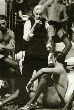 Madonna - 1992 Rolling Stones Photo Shoot.