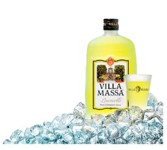 Villa Massa Limoncello, to be enjoyed ice cold!