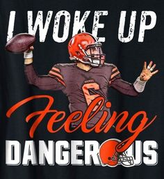 Yup, that's my quarterback. Cleveland Browns History, Cleveland Browns Football, Cleveland Rocks, Baker Mayfield Nfl, Cleveland Browns Wallpaper, Brown Wallpaper, Boomer Sooner, Helmet Design, Football Team