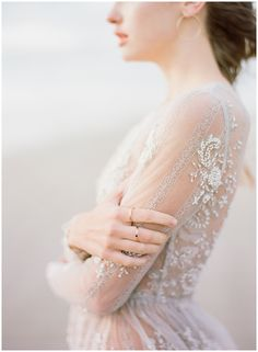 Leanne Marshall Beaded Gown || The Ganeys