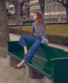 Lee Sung Kyung took some time out recently and traveled to Switzerland with Grazia Magazine and we wonder who she's thinking of? *heh* Check it out! Korean Fashion Trends, Korea Fashion, Daily Fashion, Kim Book, Frock Fashion, Weightlifting Fairy Kim Bok Joo, Cute Girl Face, Korean Actresses, Korean Actors
