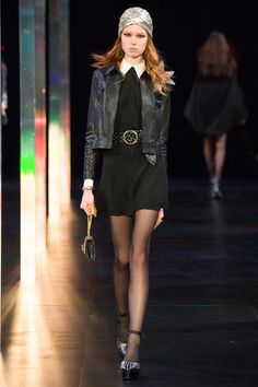 See the entire Saint Laurent spring 2015 runway show on Vogue.com.