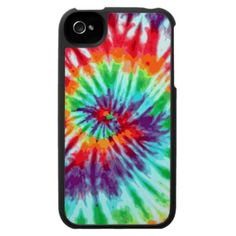 Green Tie-Dye iPhone 4 Case For The iPhone 4