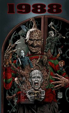 Horror icons of the year I was born!!