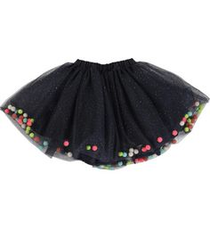 pompom colourful skirt - Google Search