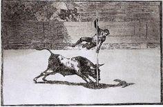 Goya: Tauromaquia nº 4.