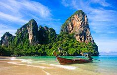 Railay Beach in Krabi, Thailand jigsaw puzzle