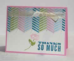 Jill's Card Creations: Thanks and Hello!