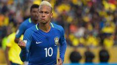 Con un penal Neymar encaminó la goleada de la Selección de Brasil contra Ecuador en Quito. El crack del Barcelona colaboró en el triunfo 3-0 en Quito, que significó la primera victoria del 'Scratch' en esta ciudad en la historia de las Eliminatorias. Setiembre 01, 2016.