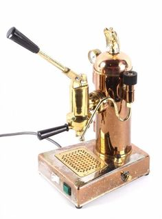 Riviera Eagle Copper Espresso Machine This is an o : Lot 52
