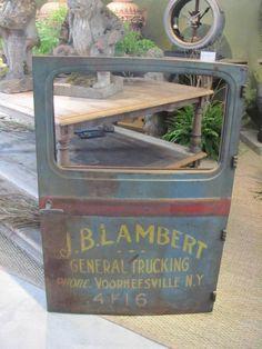 Finnegan Gallery - Vintage Delivery Truck Door