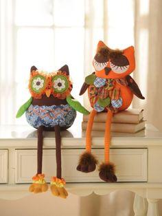 Owls, забавные игрушки