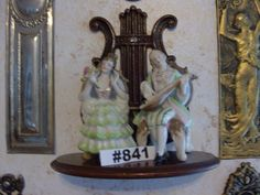 Andrea 1950s Hand Painted Colonial figurines pair made in Japan Andrea Colonial…