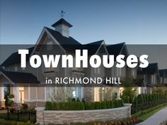 Search Results for Townhomes in York - Richmond Hill By Price