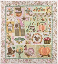 Thanksgiving Quilt by The Vintage Spool