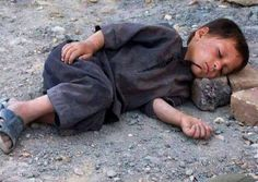 Oh Christians... What kind of man will this Syrian child become? And when he comes to kill us in our extravagance will we say, in our arrogant righteousness, that we are the victims??