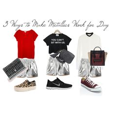 """""""Metallics for the DAY!"""" by norahabbal"""