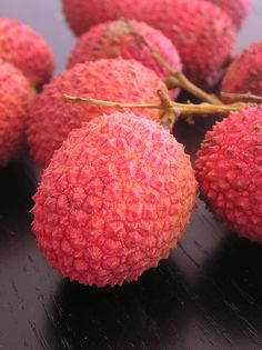 lychees, I can taste them right now......