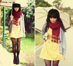 WHEN IT RAINS OH IT POURS (by KANI (Connie) Cao) http://lookbook.nu/look/2217499-WHEN-IT-RAINS-OH-IT-POURS