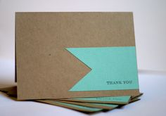 sweet thank you cards easy to make