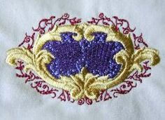 French Foliated Cartouche by Erich Campbell available from http://www.theonlystitch.com/product/foliatedfrenchcartouche/