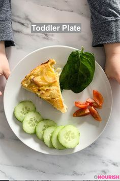 Oven Baked Spanish Tortilla - super easy to make and delicious. Cook once for whole family - adaptable for baby-led weaning (6 months old), pincer grasp (9 month old), finger food, toddlers and picky eaters. #creativenourish Toddler Dinner Recipes, Healthy Toddler Meals, Oven Recipes, Fish Recipes, Snack Recipes, Snacks, Baked Chicken Fajitas, Oven Baked Chicken, Spanish Tortilla Recipe
