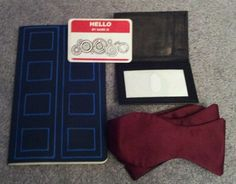 Tardis notebook... looks easy enough