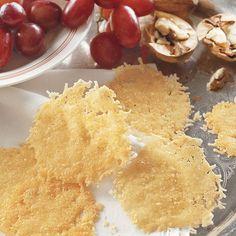 Christmas Menu: Parmesan Crisps