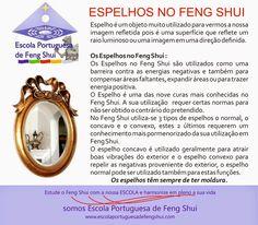 Escola Portuguesa de Feng Shui: ESPELHOS NO FENG SHUI