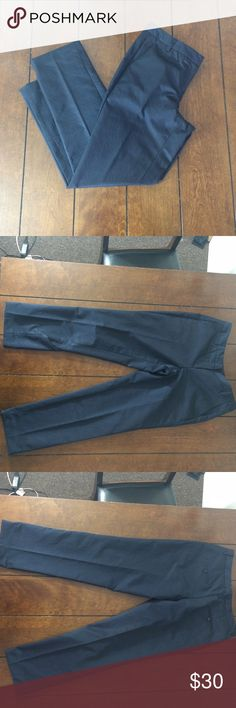 Poleci black dress pants Woman's size 6 poleci black dress pants. 100 % polyester. These do has a shine to them and sort of a thick, satiny feel. Very light wear. Black marker mark inside band. Bottoms may have been hemmed. (If they were they were done by a professional) Inseam is 29 inches, rise is 8 1/4 inches and waist is 16 inches flat across. Front and back pockets. Zipper and slide hook closure. poleci Pants Trousers