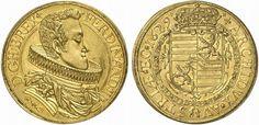 Austria: Holy Roman Emperors  AV 10 Dukaten 1629 Glatz Mint Ferdinand III 1625-57