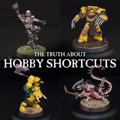 Taking a hard look at the truth about hobby shortcuts, Mengel Miniatures has been exporing how the 'new' tricks and hacks to get models painted faster, and a bit of history on the hobby