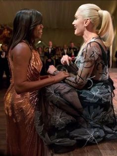 FINAL STATE DINNER On Tuesday, October 18th 2016 First Lady Of The United States Michelle Obama & Singer Gwen Stefani