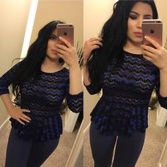 Forever21 Peplum Top Brand new Forever 21 Peplum Top! This top is so cute and the color looks great with everything! The material is sheer and gorgeous!! Tops Blouses