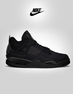 Nike Air Jordan Retro 4-Black Cat. Follow Overdeauxis,...