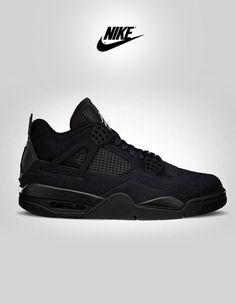Nike Air Jordan Retro 4-Black Cat. Follow Overdeauxis,...
