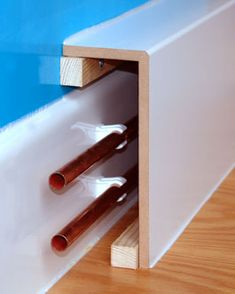 Image result for how to hide radiator pipes