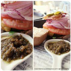 Basil pesto burger in sinsadong garosugil view my blog at www.naomilane.squarespace.com