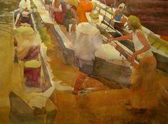 Anne Adams Robertson Massie - 2014 Virginia Watercolor Society Exhibition