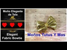 ELEGANTE MOñO EN LAME Paso a Paso ELEGANT LAMME HAIR BOW Tutorial DIY How To PAP Video 191 - YouTube